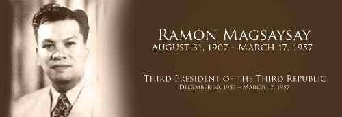 Ramon Magsaysay care filipino-people