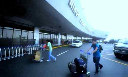 Passengers arriving at NAIA1 care ninoy-aquino-international-airport
