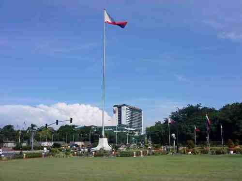 Philippines Flag & Veritable Manila Hotel, 2012