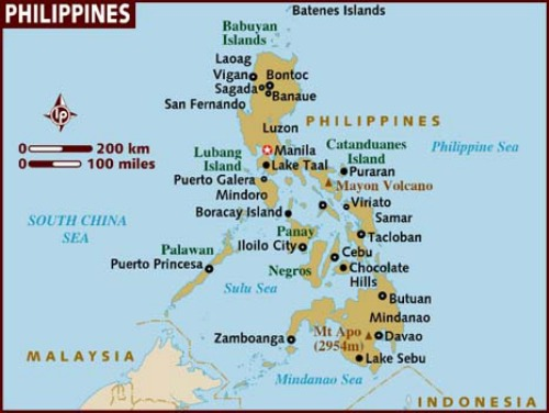 Detailed Map Of The Philippines Tracking Your Way Around The – Philippines Tourist Attractions Map