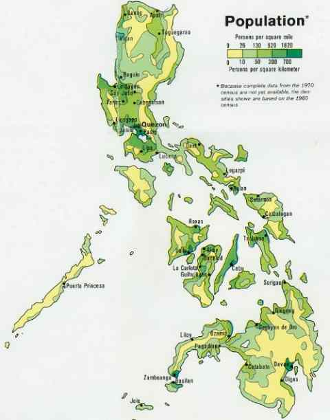 Philippines population map care detailed-map-of-the-philippines