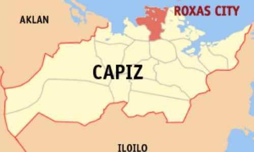 Roxas City locator map Capiz province and Roxas City