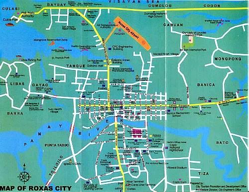 Roxas City map