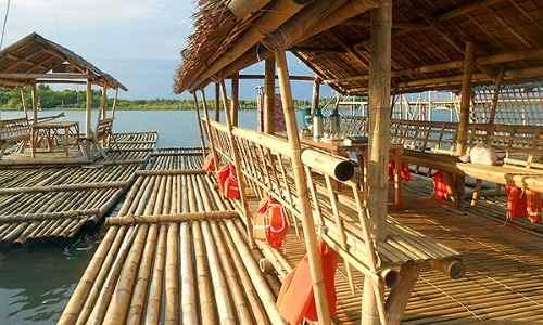 Palina river bamboo raft cruise