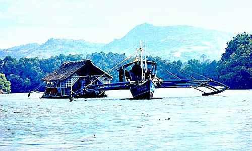 Panay river balsa cruise