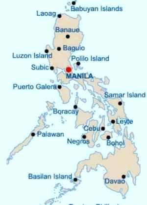 Philippines Map care philippine-islands