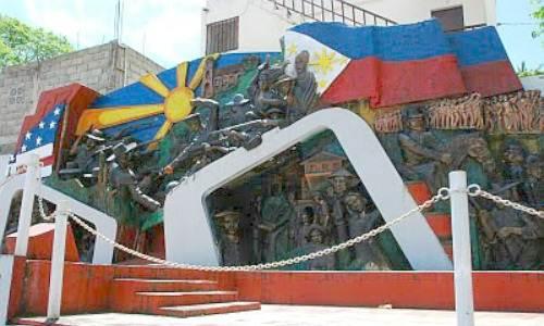 attle of Mabitac Mural