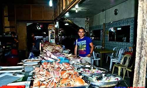 Baybay Beach Seafood Stall