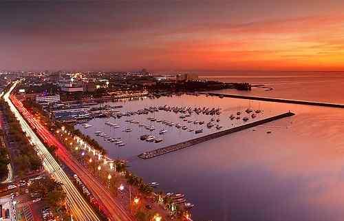 Manila Bay sunset care hotels-in-manila