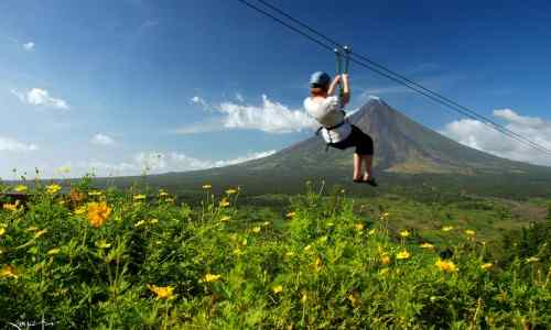 Zipling Albay care mayon-volcano