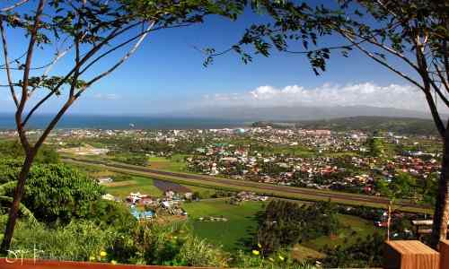 Legazpi City view care mayon-volcano