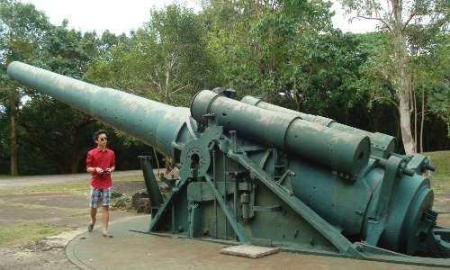 WW2 gun