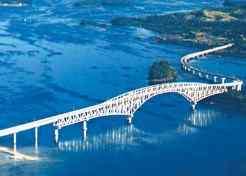 San Juanico Bridge care cheap-places-to-retire