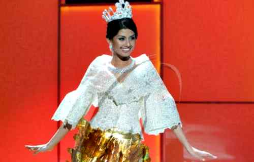 Miss Shamcey Supsup a Miss Universe candidate