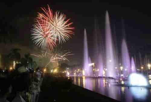New Year countdown 2012