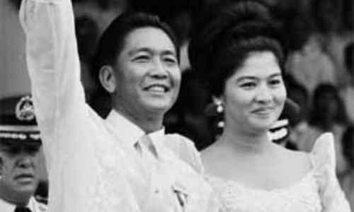 Marcos… President inaugurated 1965