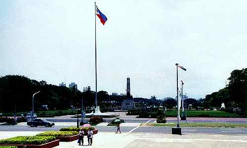 Luneta Park in the 2000s care jose-rizal