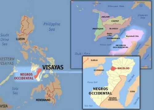 Bacolod City Location Map care bacolod-city