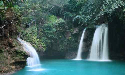 Kawasan falls care cebu-philippines