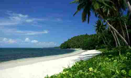 View of a Cebu beach