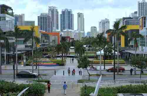 Bonifacio Global City in Taguig City