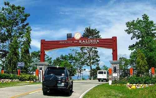 Kalinga entrance marker care philippine-provinces
