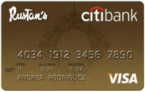 Rustan Citibank Credit Card Gold