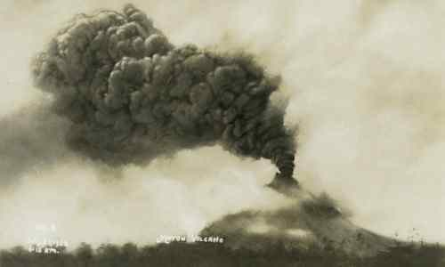1924 eruption Mayon Volcano care mayon-volcano
