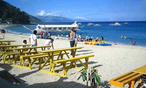 White Beach Puerto Galera philippines-tourism