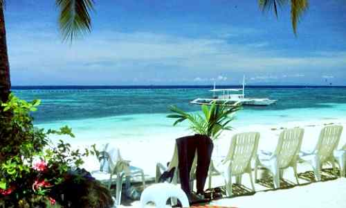 Alona Beach care philippines-tourism