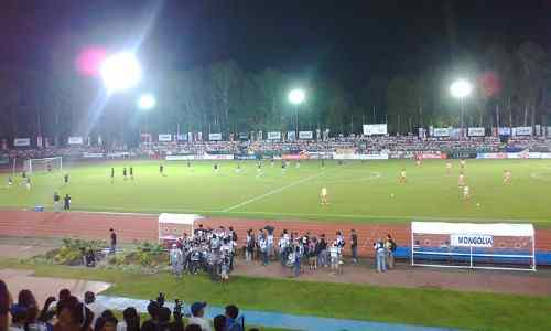 Panaad Park and Stadium during a football match care bacolod-city