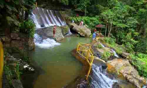 Tamaraw Falls in Oriental Mindoro