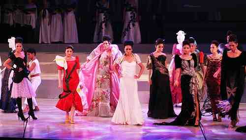 Top Filipino couturiers designs