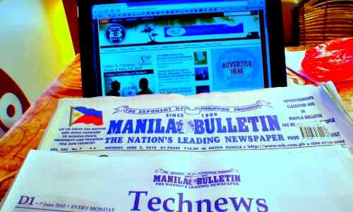 Manila Bulletin front page care philippine-news