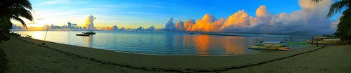 Siargao Sunset of philippines-tourism