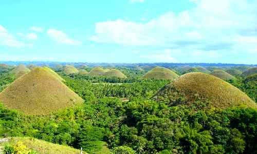 Chocolate hills care philippines-tourism